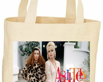 custom Absolutely Fabulous tote bag Ab Fab