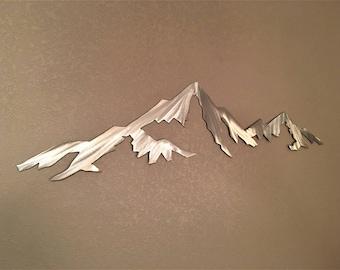 Capitol Peak 14,115 feet. Colorado 14er. Metal wall art. Fourteener art. Colorado 14ers. Outdoorsy gift. Mountain artwork. Modern wall art