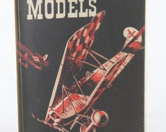 1960 Flying Scale Models Book -- Model Aeronautical Press / Aeromodeller -- Modeling, Model Plane, Model Airplane, Kit