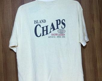 Vintage Chaps Ralph Lauren Island Polo Shirt