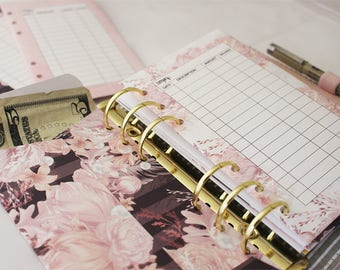 PASTEL FLORAL Collection Planner Pockets + Envelopes | Budget Envelopes | Set of 6 | DreamPlanRepeat
