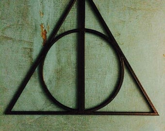 Harry Potter Deathly Hallows Symbol wall hang