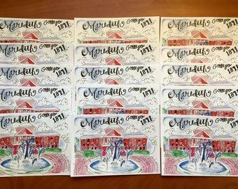 Set of 3 postcards or 4x6'' prints
