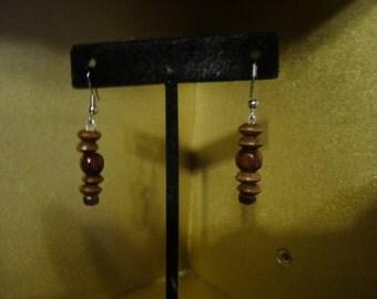 Short Earthy Earrings