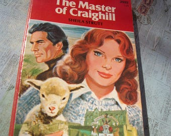 """Vintage 1980 Harlequin Romance """"The Master of Craighill"""" by Sheila Strutt"""