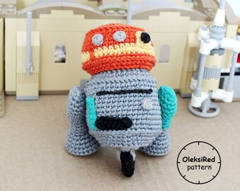 Star Wars CROCHET PATTERN - Droid C1-10P amigurumi pattern!
