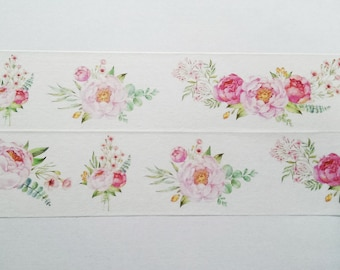 Design Washi tape bouquet Pastel pink