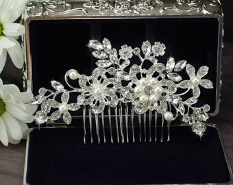 Wedding hair comb Bridal hair comb Bridal headpiece Bridal hair accessories Wedding headpiece Bridal hairpiece Bridal comb Wedding comb