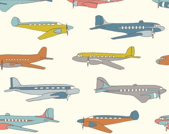 Planes from Trans-Pacific by Birch Organic Fabrics