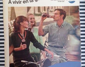 Pepsi Cola, Vintage Ad (1967)
