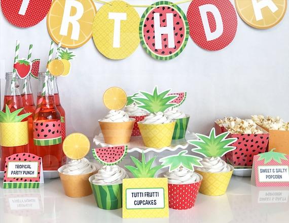 Tutti Frutti Cake Designs