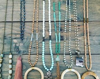 Spring Necklaces