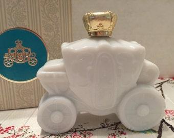 Vintage Avon Royal Coach Foaming Bath Oil Decanter AV01