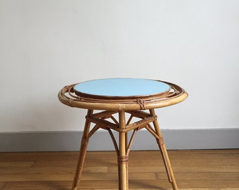 Table low rattan revisited