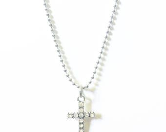 Blinged Cross