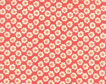 Moda Coney Island Quilt Fabric 1/2 Yard By Fig Tree & Co Candy Apple Red 20281 12