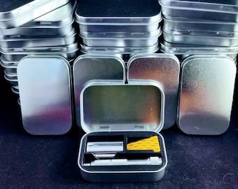 Travel Razor Tins - Altoids Size