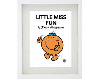 LITTLE MISS FUN Character Framed Art Collection - Mr Men and Little Miss
