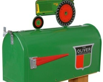 Oliver Tractor Mailbox