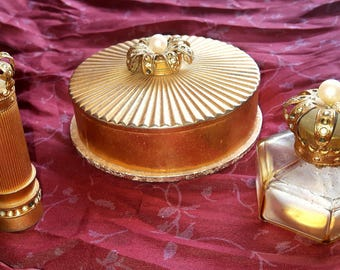 Vintage Myrna Pons Crown set