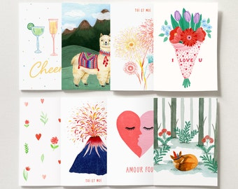 Greeting Cards - Pack of 4