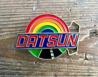 Datson Brass Belt Buckle