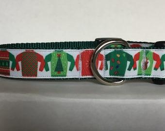 Ugly Christmas Sweater Collar