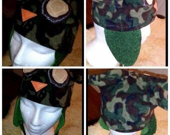 Camo Owl Hat