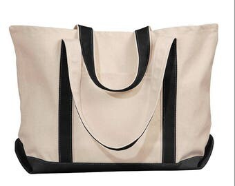 Large Custom Tote Bag