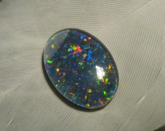 DISCOUNT Reclaimed Vintage Opal Triplet, 2.35ct (Damaged)