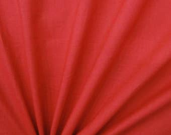 "Indian Decor Fabric, Quilt Material, Dressmaking Fabric, Sewing Accessories, Red Fabric, 44"" Inch Cotton Fabric By The Yard ZBC7557B"
