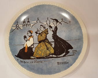 """Newell Pottery Rockwell on Tour """"When in Rome"""""""