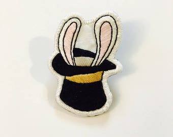 Magic Bunny Handmade Brooch