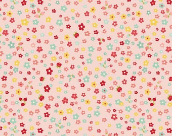 The Sweetest Thing Pink- Riley Blake 1/2 Yd and 1 Yard Cut