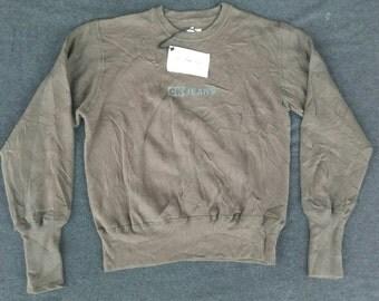 Vtg Old Stock CK CALVIN KLEIN Jeans Crewneck Sweater