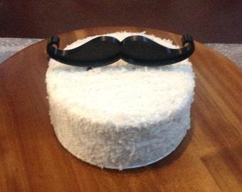 Mustache Cake Topper
