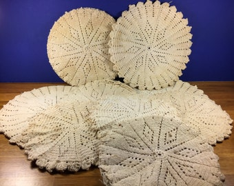 Hot Pad Doily Covers 9pc