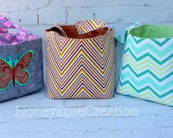 Fabric Basket Organizer Storage. Fabric Bin Basket