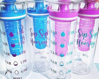 Motivational Infusion Water Bottle