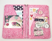 CUSTOM Stasheedori/ Fabric Midori/ Fabric Travelers Notebook/ Daily Planner/ Notebook Cover