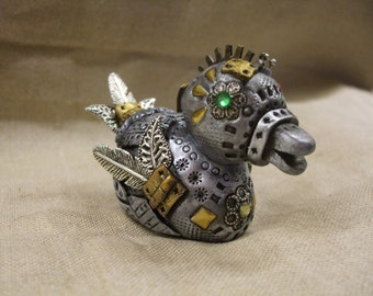 Steampunk Duck OOAK