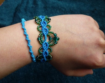 Wrist band foot Aqua Mermaid