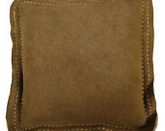 10 Inch Leather Sandbag Square Jewellers Jewellery Metalworking Double Stitched