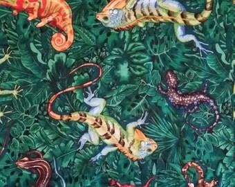 GECKO curtain panel/fabric