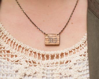 Be Bold Square Necklace