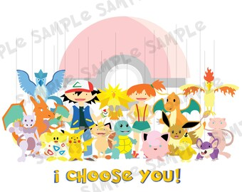 Pokemon Fingerprint Guestbook Download