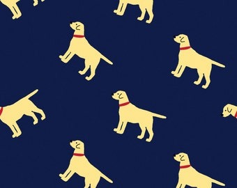 Oh Say Can You Sea in Labradors by Jack and Lulu for Dear Stella- 1/2 Yard