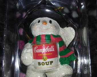 Campbell's Collectable  Christmas Ornament