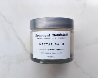 Neroli Fruit Nectar Face Balm / Neroli Fruit Soothing and Healing Face Salve / Super Fruits/ Vegan 1.7 oz / 50 mL