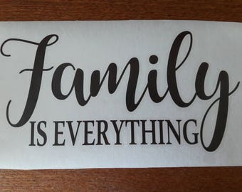 Family is Everything vinyl